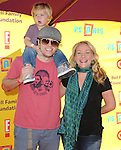 """Nicole Sullivan & family at The 12th Annual P.S. ARTS """"Express Yourself 2009"""" To Help Restore Arts Education in Public Schools,The event was  held at Barker Hangar in Santa Monica, California on November 15,2009                                                                   Copyright 2009 DVS / RockinExposures"""