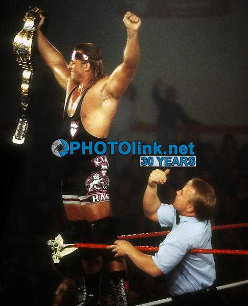 Owen Hart 1994, Photo By John Barrett/PHOTOlink