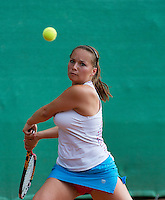 12-08-13, Netherlands, Raalte,  TV Ramele, Tennis, NRTK 2013, National RankingTennis Championships 2013,  Nicole Thijssen<br /> <br /> Photo: Henk Koster12-08-13, Netherlands, Raalte,  TV Ramele, Tennis, NRTK 2013, National Ranking Tennis Champ,  <br /> <br /> Photo: Henk Koster