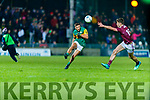 during the Allianz Football League Division 1 Round 2 match between Kerry and Galway at Austin Stack Park in Tralee, Kerry.