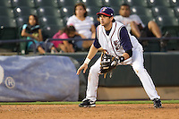Boone, Aaron 4752.jpg.  PCL baseball featuring the Memphis Redbirds at Round Rock Express at Dell Diamond on August 25th 2009 in Round Rock, Texas. Photo by Andrew Woolley.