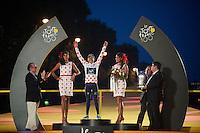 polka dot jersey: Nairo Quintana (COL)<br /> <br /> Tour de France 2013<br /> (final) stage 21: Versailles - Paris Champs-Elysées<br /> 133,5km