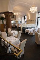 """Europe/République Tchèque/Prague: Quartier Juif - Restaurant Brasserie """"Pravda"""" , 24 rue Parizska"""