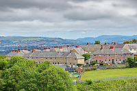 Pictured: Part of the Mayhill area in Swansea, Wales, UK. Wednesday 16 June 2021<br /> Re: Riot aftermath in the Mayhill area of Swansea, Wales, UK.