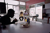 Salalah, Oman.July 2001..Cafe in the city center.