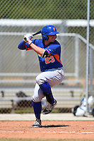 New York Mets William Fulmer (23) during a minor league spring training game against the St. Louis Cardinals on April 1, 2015 at the Roger Dean Complex in Jupiter, Florida.  (Mike Janes/Four Seam Images)