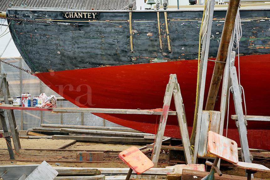 Boat building and repair, Vineyard Haven, Matha's Vineyard, Massachusetts, USA