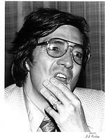 Le realisateur Denis Heroux, 15 juin 1979<br /> <br /> PHOTO : JJ Raudsepp  - Agence Quebec presse