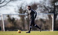 Wycombe Wanderers Manager Gareth Ainsworth during the Wycombe Wanderers Training session at Wycombe Training Ground, High Wycombe, England on 17 January 2019. Photo by Andy Rowland.