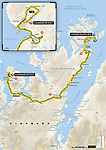 Maps and profiles for the 2018 Artic Race of Norway, a 4 stage race running from 16-19th August 2018. <br /> Picture: ASO | Cyclefile<br /> All photos usage must carry mandatory copyright credit (© Cyclefile | ASO)