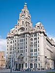 The Royal Liver Building Liverpool.Merseyside. England.
