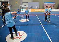 Rotterdam, Netherlands, December 17, 2016, Topsportcentrum, Lotto NK Tennis,  KNLTB Plaza <br /> Photo: Tennisimages/Henk Koster