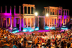 2015 Theater Ceres Awards ceremony at Merida, Spain, August 27, 2015. <br /> (ALTERPHOTOS/BorjaB.Hojas)