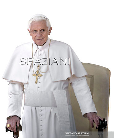 Pope Benedict XVI during his weekly general audience in St. Peter square at the Vatican, Wednesday. 4 April, 2012