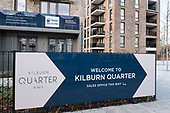 Flats for sale in Kilburn Quarter, Phase 2a of Brent Council's South Kilburn Estate regeneration scheme.