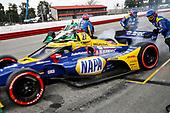 #27: Alexander Rossi, Andretti Autosport Honda, #88: Colton Herta, Andretti Harding Steinbrenner Autosport Honda, pit stop
