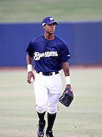 Jose Garcia / AZL Brewers..Photo by:  Bill Mitchell/Four Seam Images