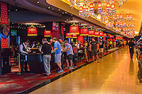 Las Vegas, Nevada.  Gaming Tables, The Cromwell Casino.