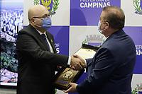 Campinas (SP), 01/01/2021 - Posse prefeito - O novo prefeito de Campinas (SP), Dário Saadi (Republicanos), e seu vice, Wanderlei Almeida (PSB), tomam posse nesta sexta-feira (01) para a legislatura deste ano até 2024. A cerimônia aconteceu na Prefeitura.