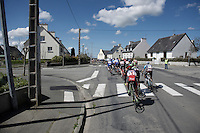 Peloton rolling through the villages of West Brittany<br /> <br /> 33th Tro Bro Léon 2016