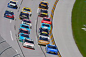 NASCAR Xfinity Series<br /> Sparks Energy 300<br /> Talladega Superspeedway, Talladega, AL USA<br /> Saturday 6 May 2017<br /> Joey Logano, Discount Tire Ford Mustang and Daniel Suarez, Peak Antifreeze & Coolant Toyota Camry<br /> World Copyright: Nigel Kinrade<br /> LAT Images<br /> ref: Digital Image 17TAL1nk03673
