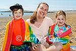 The Tangney family enjoying the beach in Fenit on Sunday, l to r: Luke, Karolina and Emma Tangney.
