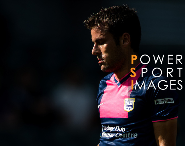 Jorge Tarres of Kitchee looks during the HKFA Premier League between South China Athletic Association vs Kitchee at the Hong Kong Stadium on 23 November 2014 in Hong Kong, China. Photo by Aitor Alcalde / Power Sport Images