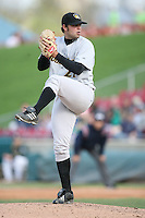 May 2, 2009: Sean Morgan (21) of the South Bend Silver Hawks at Elfstrom Stadium in Geneva, IL.  Photo by: Chris Proctor/Four Seam Images