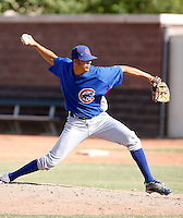Corey Martin - Chicago Cubs 2009 Instructional League .Photo by:  Bill Mitchell/Four Seam Images..
