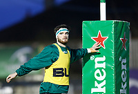 20th December 2020; The Sportsground, Galway, Connacht, Ireland; European Champions Cup Rugby, Connacht versus Bristol Bears; Tom Daly (Connacht) pictured during the warm up
