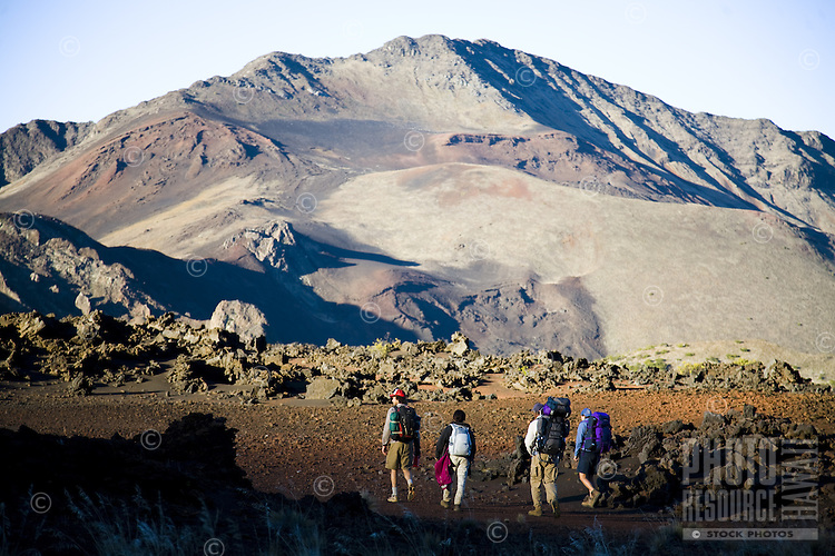 Hiking/camping in Maui's Haleakala National Park