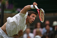 27-06-13, England, London,  AELTC, Wimbledon, Tennis, Wimbledon 2013, Day four, Igor Sijsling (NED)<br /> <br /> <br /> <br /> Photo: Henk Koster