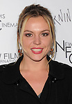 Agnes Bruckner attends the New Films Cinema's Premiere of Burning Palms held at The Arclight Theatre in Hollywood, California on January 12,2011                                                                               © 2010 DVS / Hollywood Press Agency