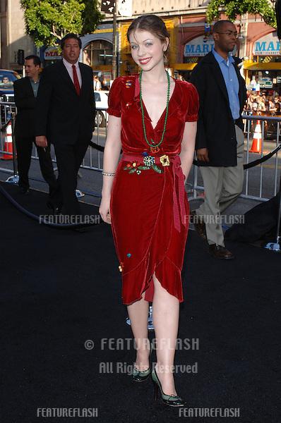 Actress MICHELLE TRACHTENBERG at the Los Angeles premiere of Batman Begins..June 6, 2005 Los Angeles, CA..© 2005 Paul Smith / Featureflash