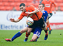 :: DUNDEE UTD'S CRAIG CONWAY IS FOULED BY LIAM KELLY :: .23/04/2011   Copyright  Pic : James Stewart.sct_jsp024_dundee_utd_v_kilmarnock .James Stewart Photography 19 Carronlea Drive, Falkirk. FK2 8DN      Vat Reg No. 607 6932 25.Telephone      : +44 (0)1324 570291 .Mobile              : +44 (0)7721 416997.E-mail  :  jim@jspa.co.uk.If you require further information then contact Jim Stewart on any of the numbers above.........