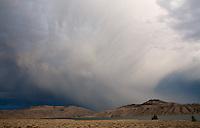 Storm over Blue Mesa Reservoir, between Gunnison and Montrose.<br /> <br /> Canon EOS 5D, 24mm f/2.8 lens