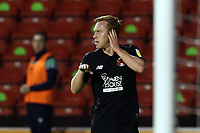 O's Danny Johnson scores the opener and celebrates during Walsall vs Leyton Orient, Sky Bet EFL League 2 Football at the Banks's Stadium on 13th October 2020
