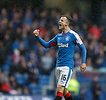 Andy Halliday back on his feet to celebrate his goal