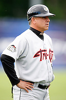 July 19, 2009:  Manager Jim Pankovits of the Tri-City ValleyCats during a game at Dwyer Stadium in Batavia, NY.  The ValleyCats are the Short-Season Class-A affiliate of the Houston Astros.  Photo By Mike Janes/Four Seam Images