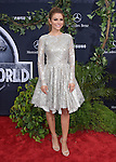 Maria Menounos attends The Universal Pictures World Premiere of Jurassic World held at The Dolby Theatre  in Hollywood, California on June 09,2015                                                                               © 2015 Hollywood Press Agency