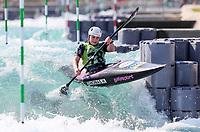Hannah Thomas. (NZL). Oceania Canoe Slalom Championships, Whero Whitewater Park, Auckland, New Zealand, 1st February 2020. Photo: Simon Watts/www.bwmedia.co.nz