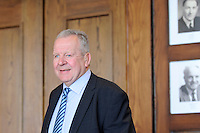 Bill Beaumont, chairman of the RFU during the RFU media briefing on the plans for the European Rugby Champions Cup and the European Rugby Challenge Cup competitions at Twickenham Stadium on Monday 14th April 2014 (Photo by Rob Munro)