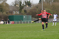 George Purcell scores the second goal for Hornchurch with a free-kick - AFC Hornchurch vs Billericay Town - Ryman League Premier Division Football at The Stadium, Bridge Avenue - 06/04/15 - MANDATORY CREDIT: Gavin Ellis/TGSPHOTO - Self billing applies where appropriate - contact@tgsphoto.co.uk - NO UNPAID USE