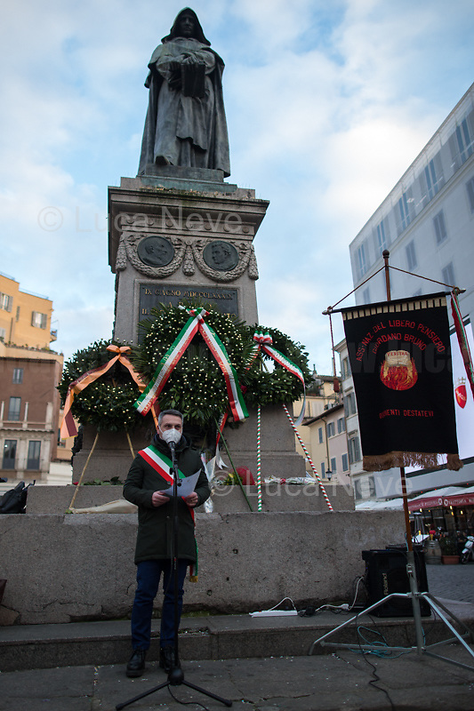 Representative of the Mayor of Nola, City in Campania Region where Giordano Bruno was born.  <br />