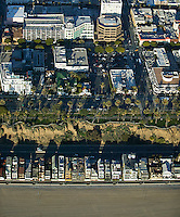 aerial photograph Santa Monica, California