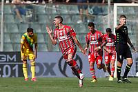 Cremona 02/10/2021 - campionato di calcio serie B / Cremonese-Ternana / photo Image Sport/Insidefoto<br /> nella foto: esultanza gol Luca Zanimacchia