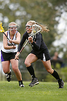 20 June 2006: Sarah Bach during Stanford's 17-9 loss to Northwestern in the first round of the 2006 NCAA Lacrosse Championships in Evanston, IL. Stanford made it to the NCAA's for the first time in school history.