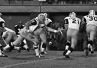Wally Gabler HamiltonTiger Cats quarterback 1971. Copyright photograph Scott Grant