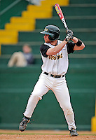 2 May 2008: University of Vermont Catamounts' infielder Justin Milo, a Sophomore from Edina, MN, in action against the Binghamton University Bearcats at Historic Centennial Field in Burlington, Vermont. The Catamounts defeated the Bearcats 6-2 in the first game of their weekend series...Mandatory Photo Credit: Ed Wolfstein Photo