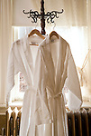 Historic Peter Herdic Inn. White  bath robes.